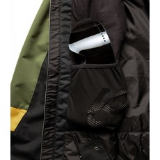 686 686 MENS STATIC INSULATED JACKET PUTTY CLRBLK