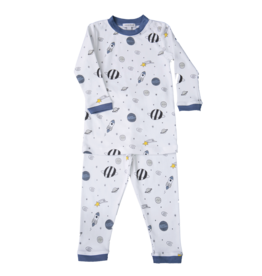 Noomie Noomie - Blue Universe Two Piece PJ
