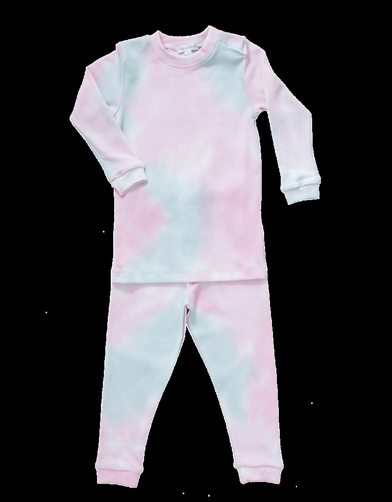 Noomie Noomie - Tie Dye Pink Two Piece Pj