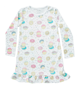 Noomie Noomie - Donuts Dress w/Ruffle