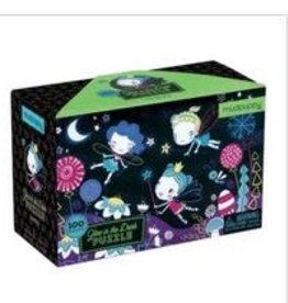 Mudpuppy Mudpuppy - Fairies Glow in the Dark Puzzle