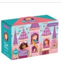 Mudpuppy Mudpuppy - Princess Glitter Puzzle