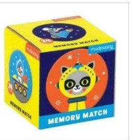 Mudpuppy Mudpuppy - Outer Space Mini Memory Match Game