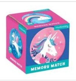 Mudpuppy Mudpuppy - Unicorn Magic Mini Memory Match Game