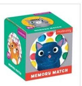 Mudpuppy Mudpuppy - Cat's Meow Mini Memory Match Game