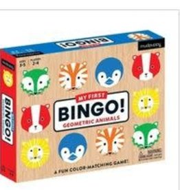 Mudpuppy Mudpuppy - Geometric Animals My First Bingo