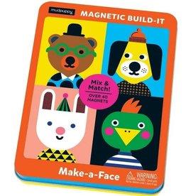 Mudpuppy Mudpuppy - Make-a-Face Magnetic Build-It