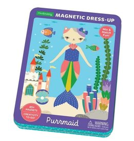 Mudpuppy Mudpuppy - Purrmaid Magnetic Dress-up