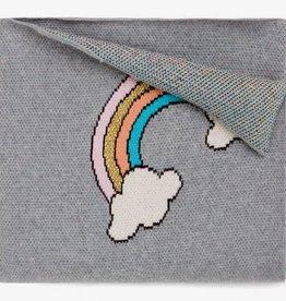 Elegant Baby Elegant Baby - Rainbow Organic Cotton Knit Baby Blanket