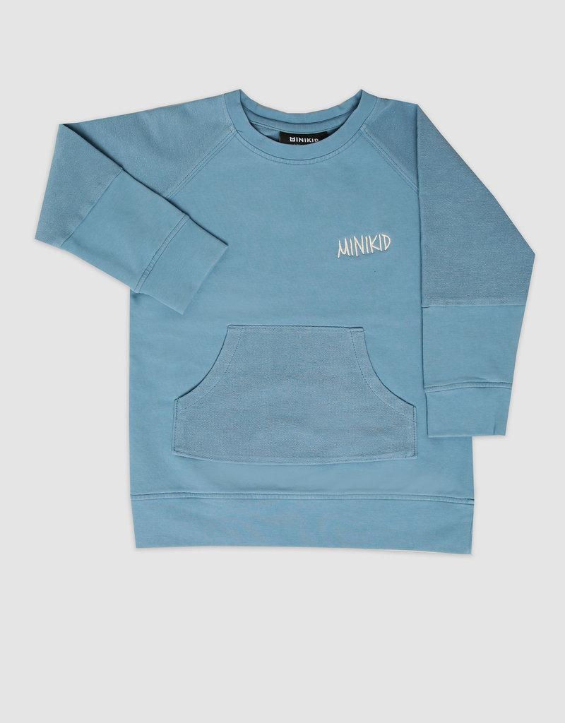 MiniKid MiniKid - Lagoon Blue Sweatshirt