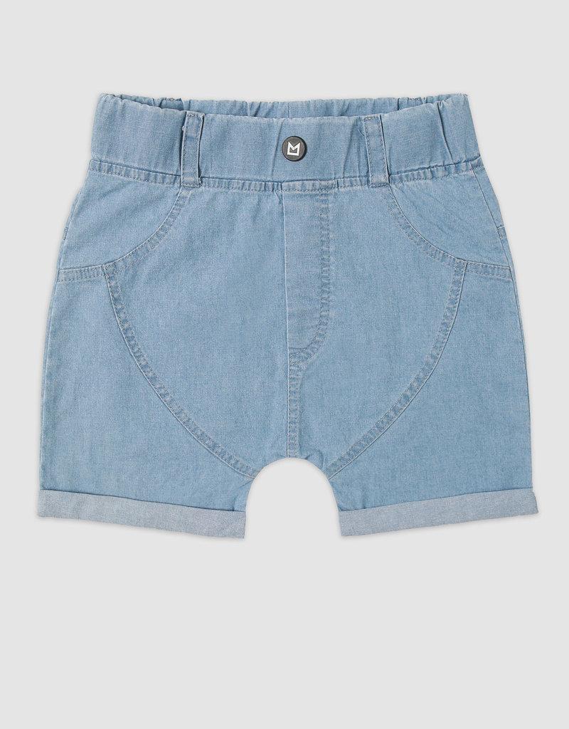MiniKid MiniKid - Lagoon Blue Jean Shorts