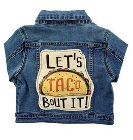 Wee Monster Wee Monster - Denim Let's Taco Bout It Jacket