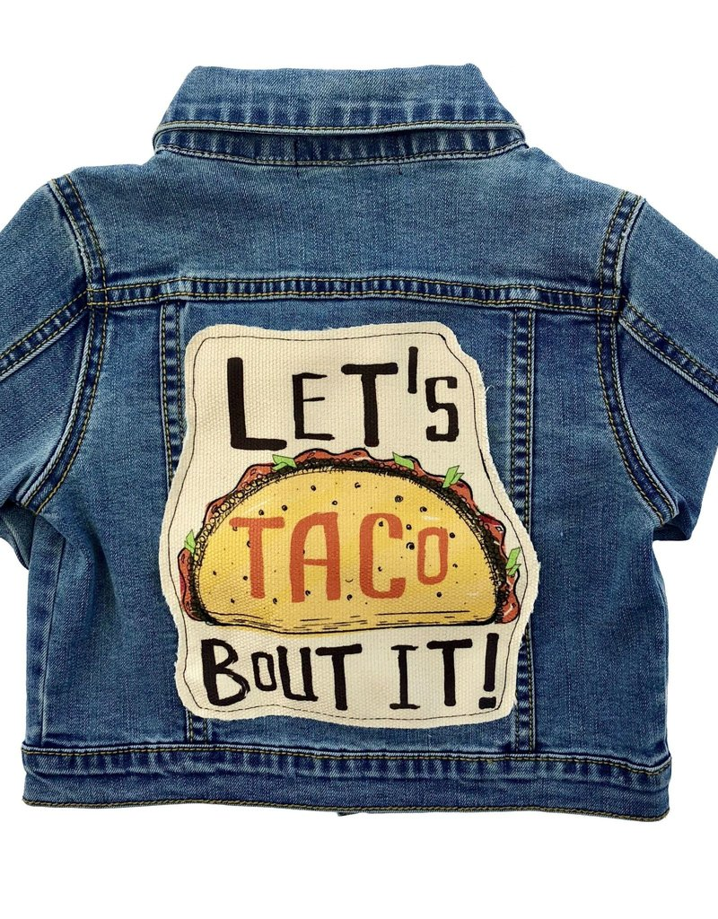 Wee Monster Wee Monster - Denim Let's Taco Bout It Jacket