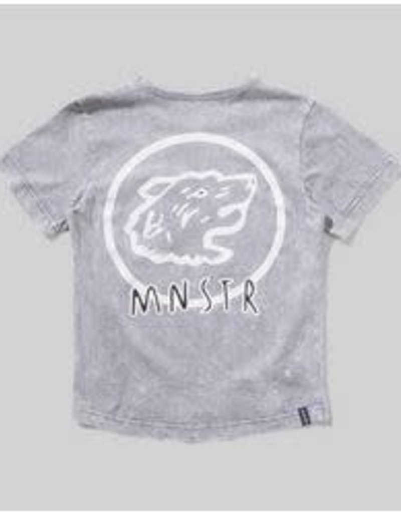 MunsterKids MunsterKids - Pak Tee Washed Grey