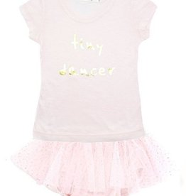 "oh baby! oh baby! - ""Tiny Dancer"" Gold Foil Tushie Set - Pink/Gold"