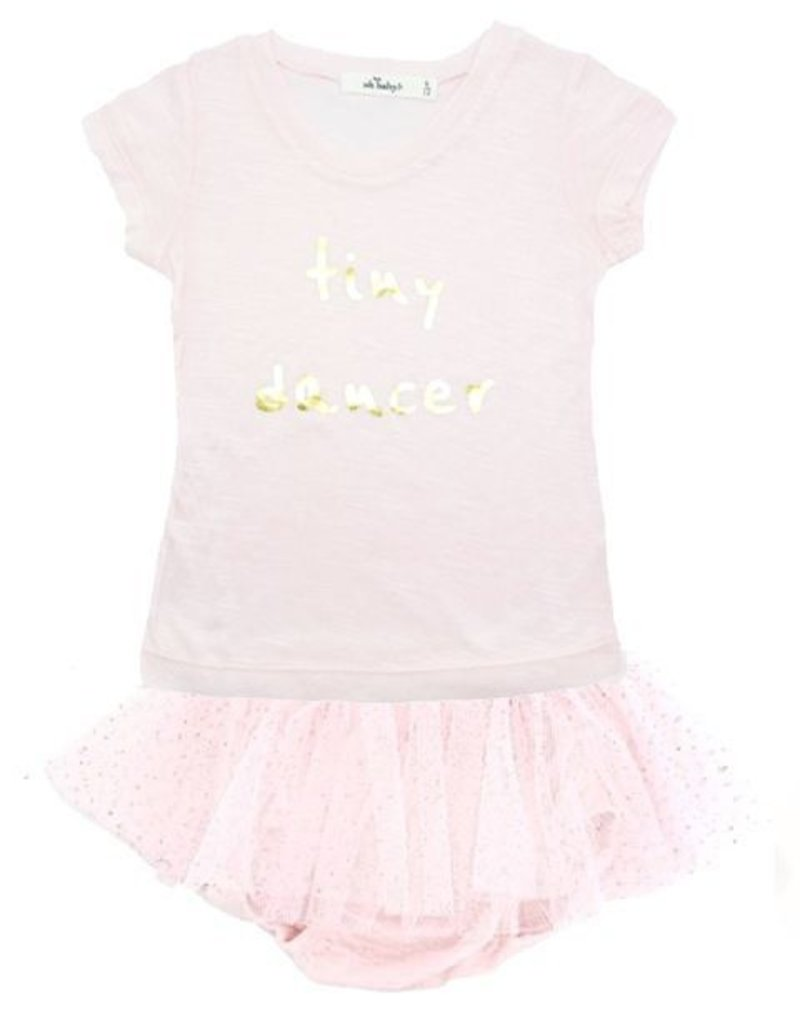 """oh baby! oh baby! - """"Tiny Dancer"""" Gold Foil Tushie Set - Pink/Gold"""