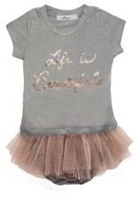 """oh baby! oh baby! - """"Life is Beautiful"""" Rose Gold Foil Tushie Set"""