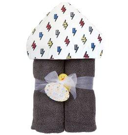 Baby Jar Baby Jar - Deluxe Towel Plush Hood - Bolts
