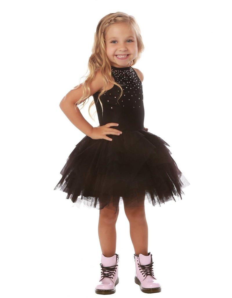 Ooh! La, La! Ooh! La, La! - Carrie Dress in Black