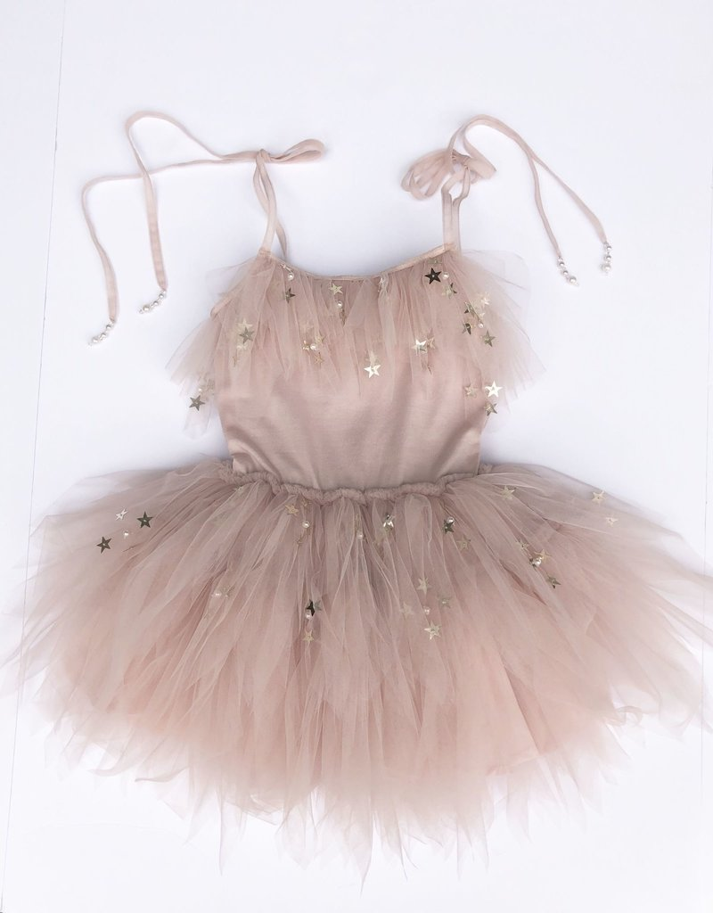 Marais Sky Marais Sky - Lucky Star Flounce Dress in Blush