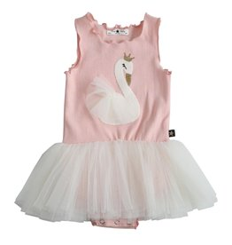Petite Hailey Petite Hailey - Swan Baby Tutu Dress