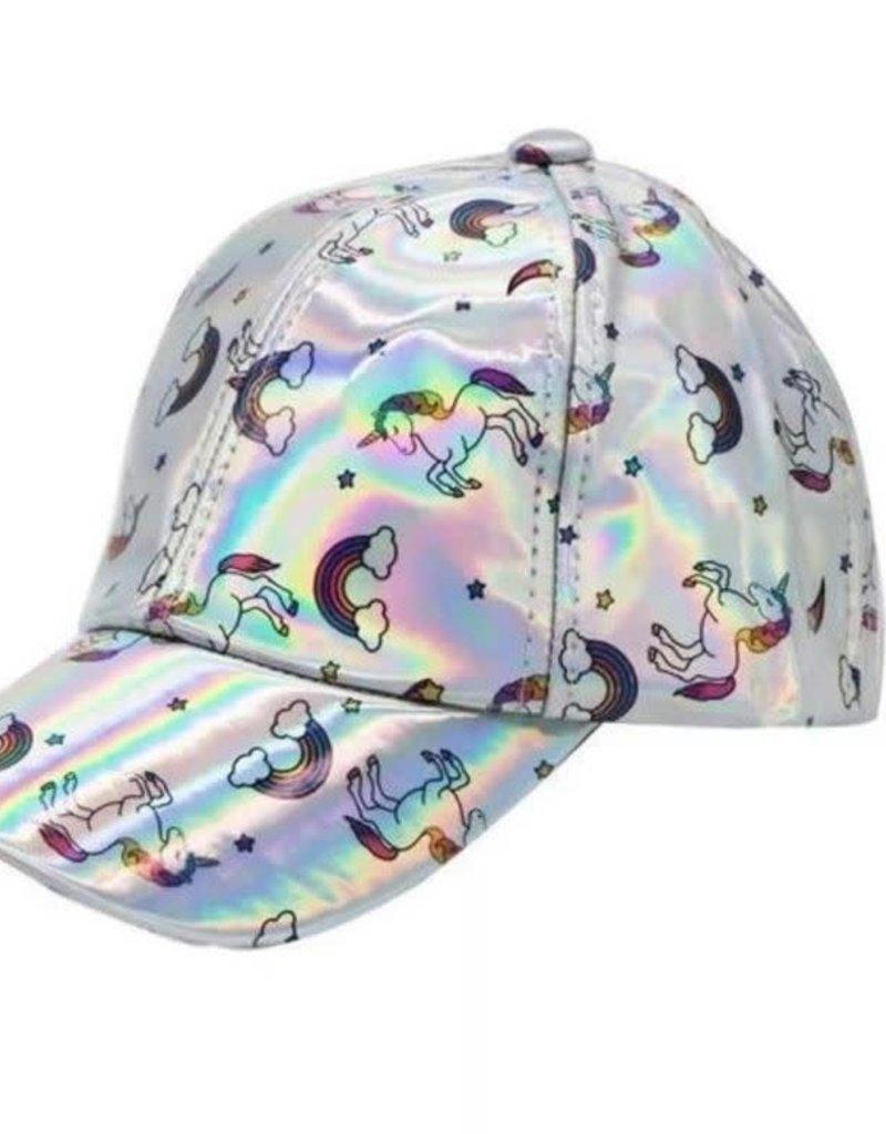 Lola and the Boys Lola and the Boys - Metallic Unicorn Baseball Hat