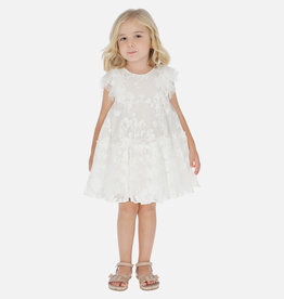 Mayoral Mayoral - White Tulle Dress