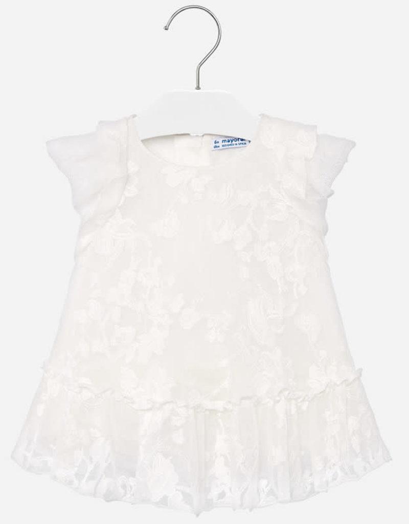 Mayoral Mayoral - Natural Tulle Dress