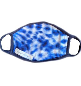 Bailey Blue Bailey Blue - Face Mask - Tie Dye Navy Cloud - Adult