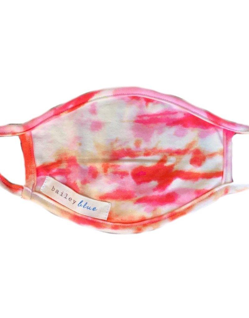 Bailey Blue Bailey Blue - Face Mask - Tie Dye Sunshine Marble - Adult