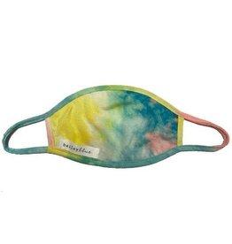 Bailey Blue Bailey Blue - Face Mask - Tie Dye Yellow Aqua - Adult