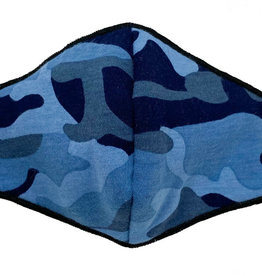 ESME ESME - Navy Camo Face Mask - Adult
