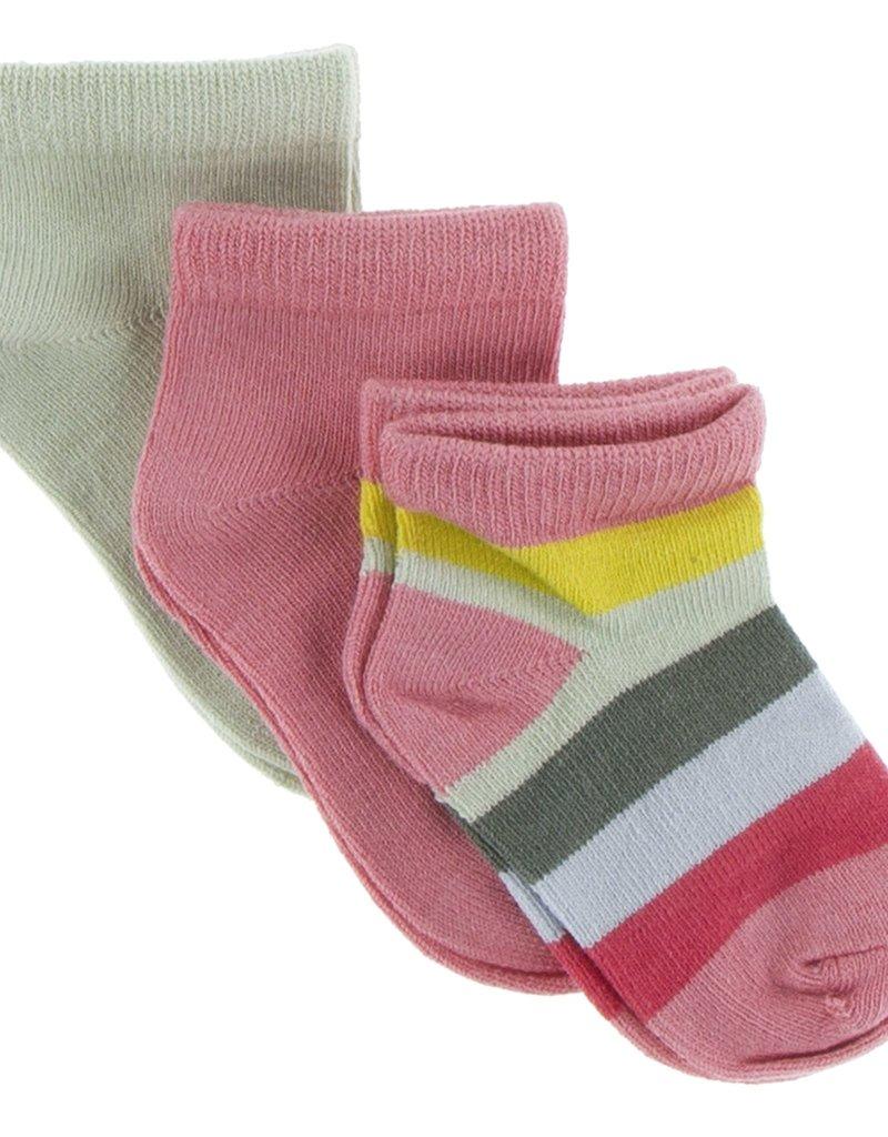 KicKee Pants KicKee Pants - Low Sock Set/SB Stripe