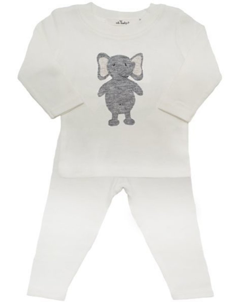 oh baby! oh baby! - Two Piece Set - Rag Doll Elephant