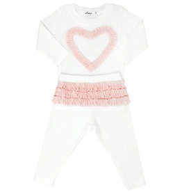 oh baby! oh baby! - Two Piece Set  - Ruffle Heart