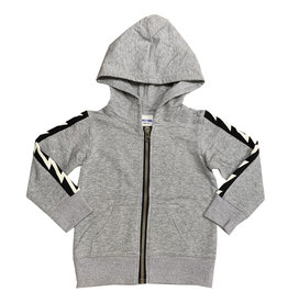 Bit'z Kids Bit'z Kids - Grey Bolt Hooded Top