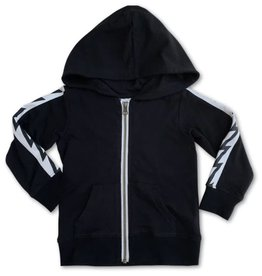 Bit'z Kids Bit'z Kids - Black Bolt Hooded Top