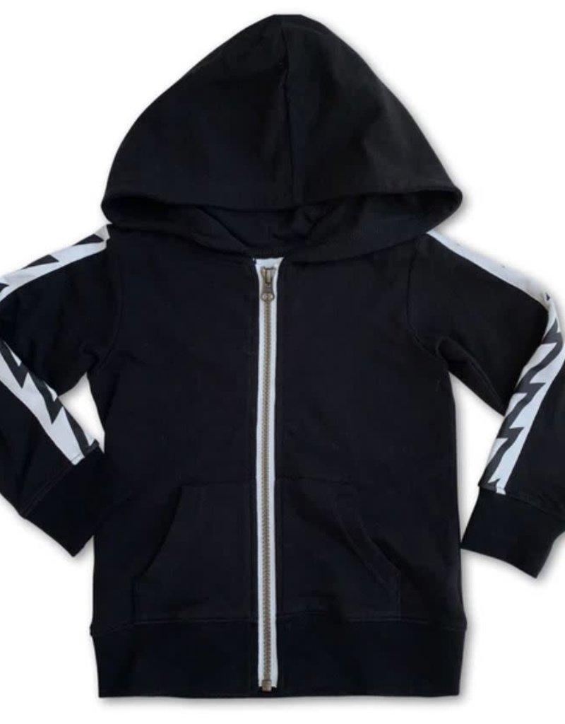 Bit'z Kids Bit'z Kids - Black Bolt Hooded Top