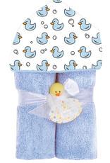 Baby Jar Baby Jar - Hooded Towel Blue Ducks
