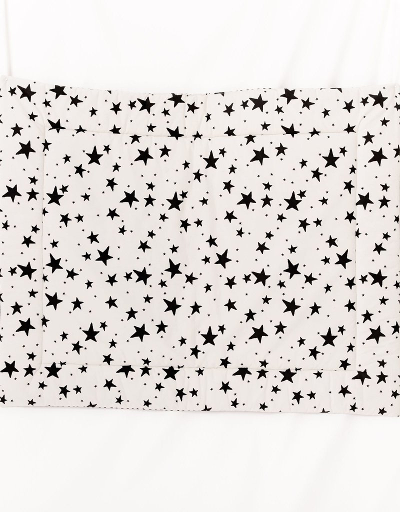 Noe & Zoe Noe & Zoe - Black Stars & Stripes Playmat
