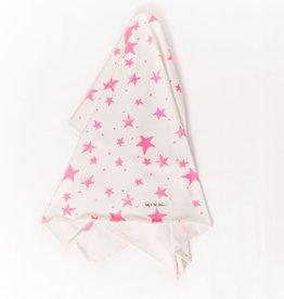 Noe & Zoe Noe & Zoe - Neon Pink Stars Blanket