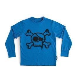 NuNuNu NuNuNu - Blue Skull T-Shirt