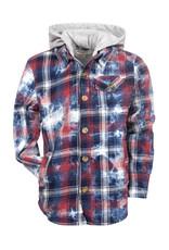 Appaman Appaman - Plaid Glen Hooded Shirt