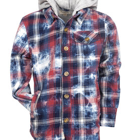Appaman Appaman - Plaid Glen Hooded Shirt