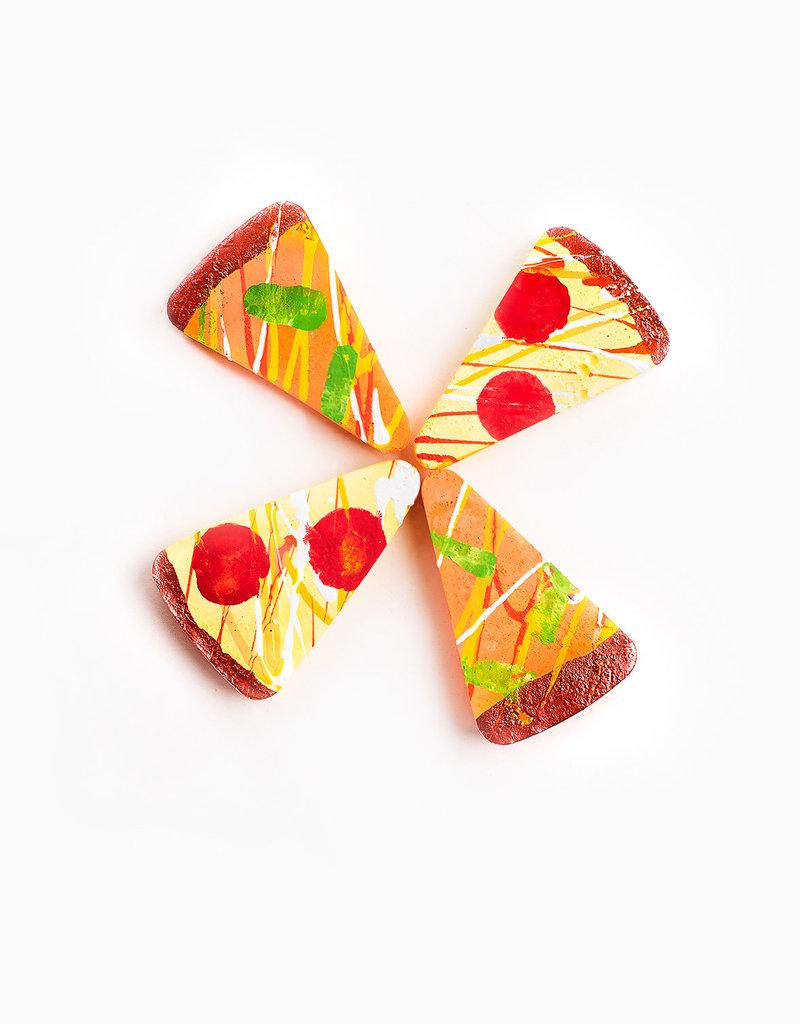 TWEE TWEE - Cheesy Pizza Sidewalk Chalk