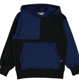 Molo Molo - Ink Blue Hooded Top