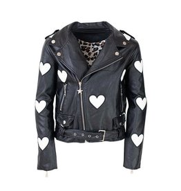 Lola and the Boys Lola and the Boys - Leather Vegan Jacket