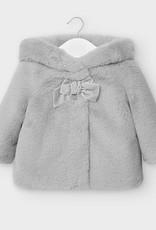 Mayoral Mayoral - Gray Fur Coat