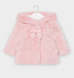 Mayoral Mayoral - Rose Fur Coat