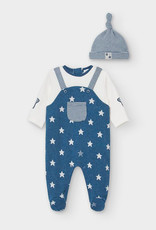 Mayoral Mayoral - Dungarees with Hat